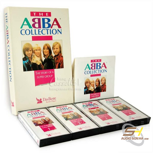 Băng Cassette The Abba Collection, bộ 4 băng