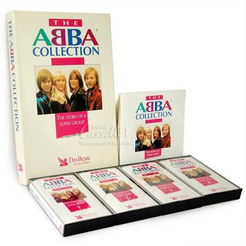 Băng Cassette The Abba Collection, bộ 4 băng