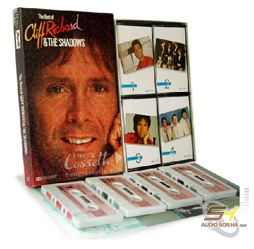 Băng Cassette The Best Of Cliff Richard & The Shadow / 4 băng