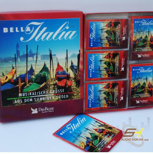 Băng Cassette Bella Italia /5 băng