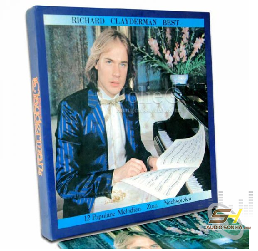Băng Cassette Richard Clayderman Best /6 băng