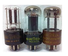 Bóng đèn Raytheon 6SN7GT / 6SN7GTA / 6SN7WGT Vacuum Tube
