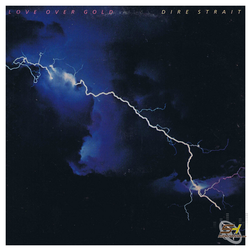 LP Dire Straits,  Love over gold