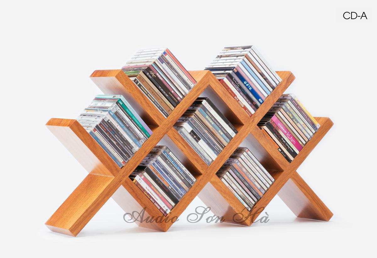 Kệ đĩa CD A/ 1 Cái