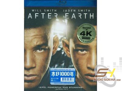 Đĩa  After Earth - Mastered in 4K