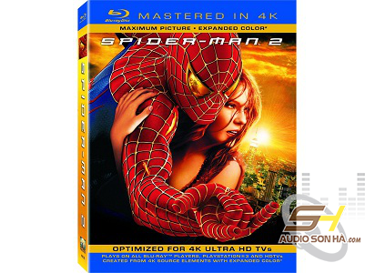 Đĩa Spiderman 1&2 - Mastered in 4K