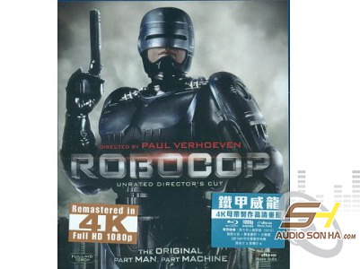 Đĩa Robocop - Mastered in 4K