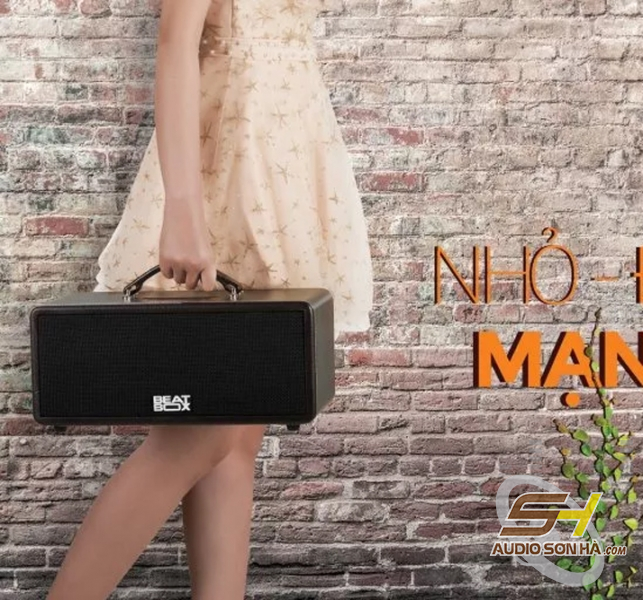 Dàn karaoke di động Beatbox Mini KS361M-0