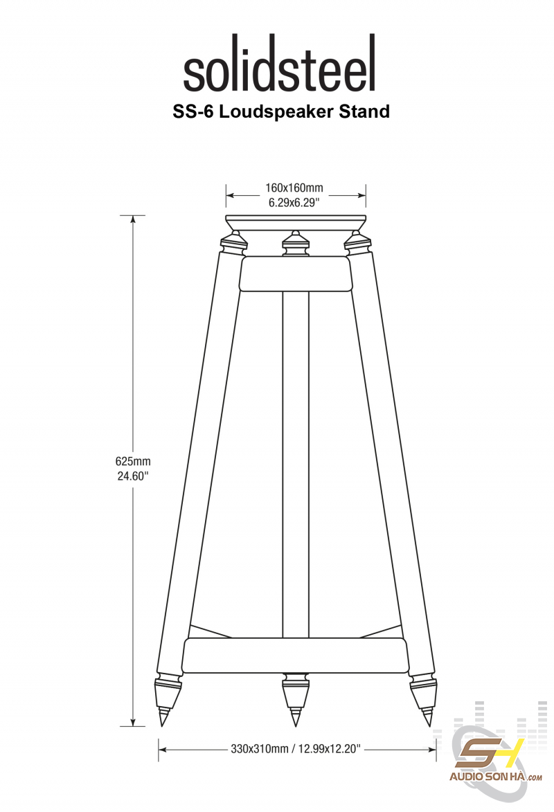 Chân loa Solidsteel SS-6-0