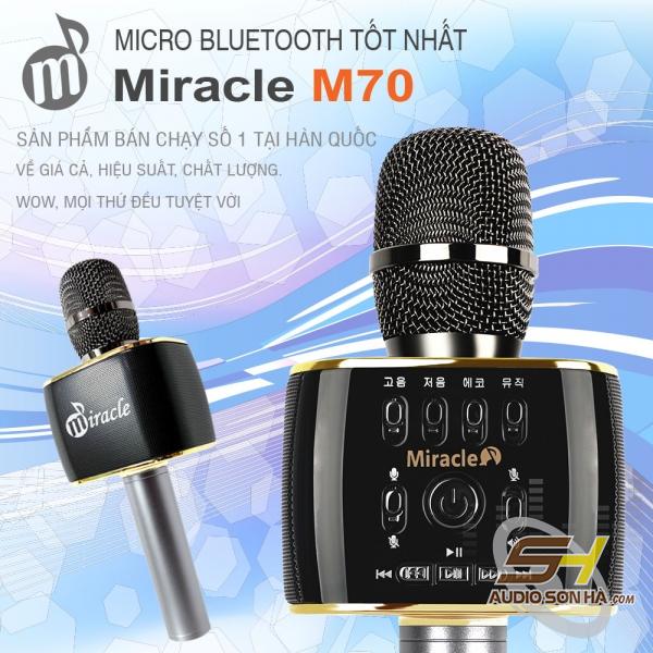Micro Karaoke Bluetooth Miracle M70-1