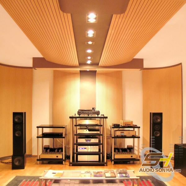 Phòng phim mẫu với tiêu tán âm Kaiser-0